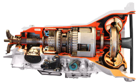 photo of transmission cutaway